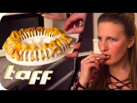 CHIPS SELBER MACHEN in der MIKROWELLE – Küchen-Gadgets im Test | taff | ProSieben