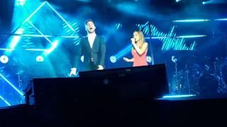 El Ruido. David Bisbal Y Mónica. Tarragona. Hijos Del Mar Tour (7-7-2017)