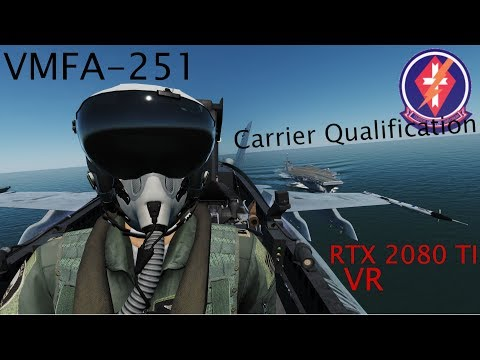 DCS World with RTX 2080 TI VR LOWEST settings - смотреть