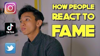 How People React To Fame