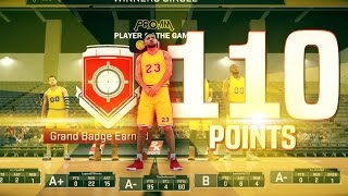 DROPPED 110 POINTS WITH MY SHARPSHOOTER!! DOMINATING ON PRO-AM EASILY!!!