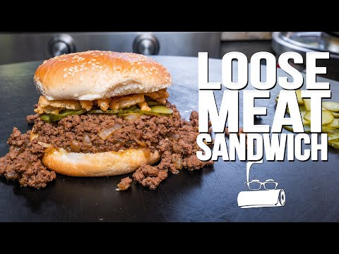 THE MIDWEST'S ANSWER TO THE SLOPPY JOE – THE LOOSE MEAT SANDWICH