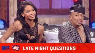 Chanel Iman & Nick Cannon Heat Things Up In The Bedroom 🔥 Wild 'N Out | #LateNightQuestions