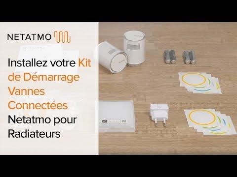 Netatmo Starterkit Smart Radiator Valves