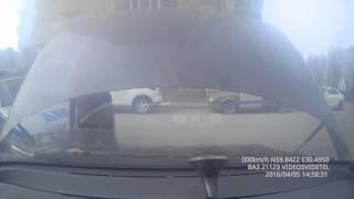 Хороший полицейский И на ДТП приехал И дал прикурить 04.2016