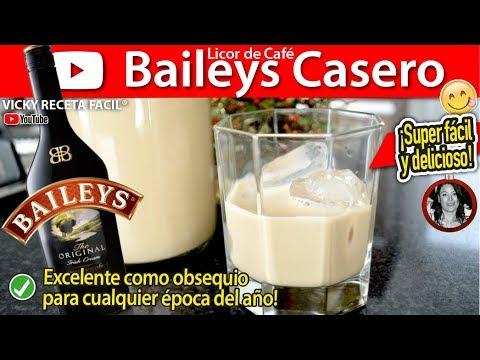 Licor tipo Baileys Café