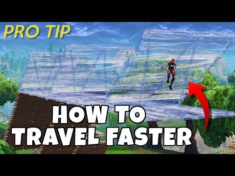 FASTEST way to TRAVEL in Fortnite Battle Royale