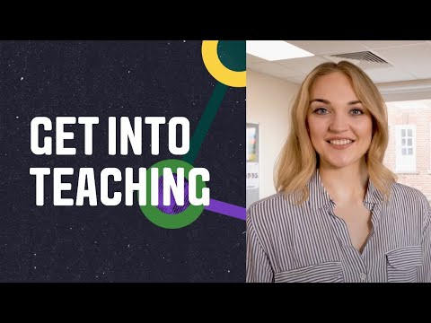 Video thumbnail of Get into teaching