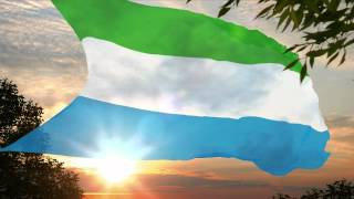 National Anthem of Sierra Leone ✪ High We Exalt Thee, Realm of the Free (Hymne Sierra Leone)