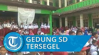 Kisruh Penyegelan SDN Karang Rahayu 01 Bekasi, Ratusan Siswa Gelar Unjuk Rasa