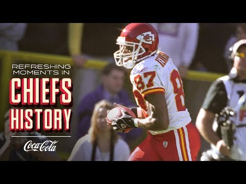 Trent Green Hits Eddie Kennison in Overtime vs. Packers | Refreshing Moments in Chiefs History