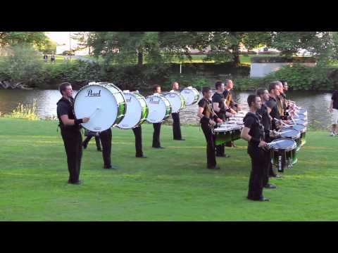 2013 Cascades drumline, I was a member at this time and am playing snare in this video.