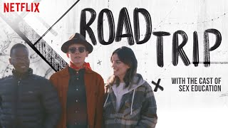 Sex Education Cast Try Cafe Du Monde & Other U.S. Firsts | Road Trip | Netflix