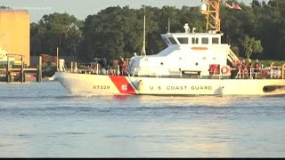 Search continues for missing firefighters lost at sea