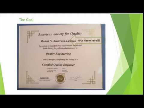 Introduction to the CQE Course - YouTube