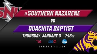 No. 19 SNU Men's Basketball vs. Ouachita Baptist