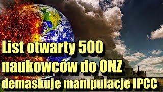 List otwarty 500 naukowców do ONZ. Nie ma żadnego kryzysu klimatycznego!