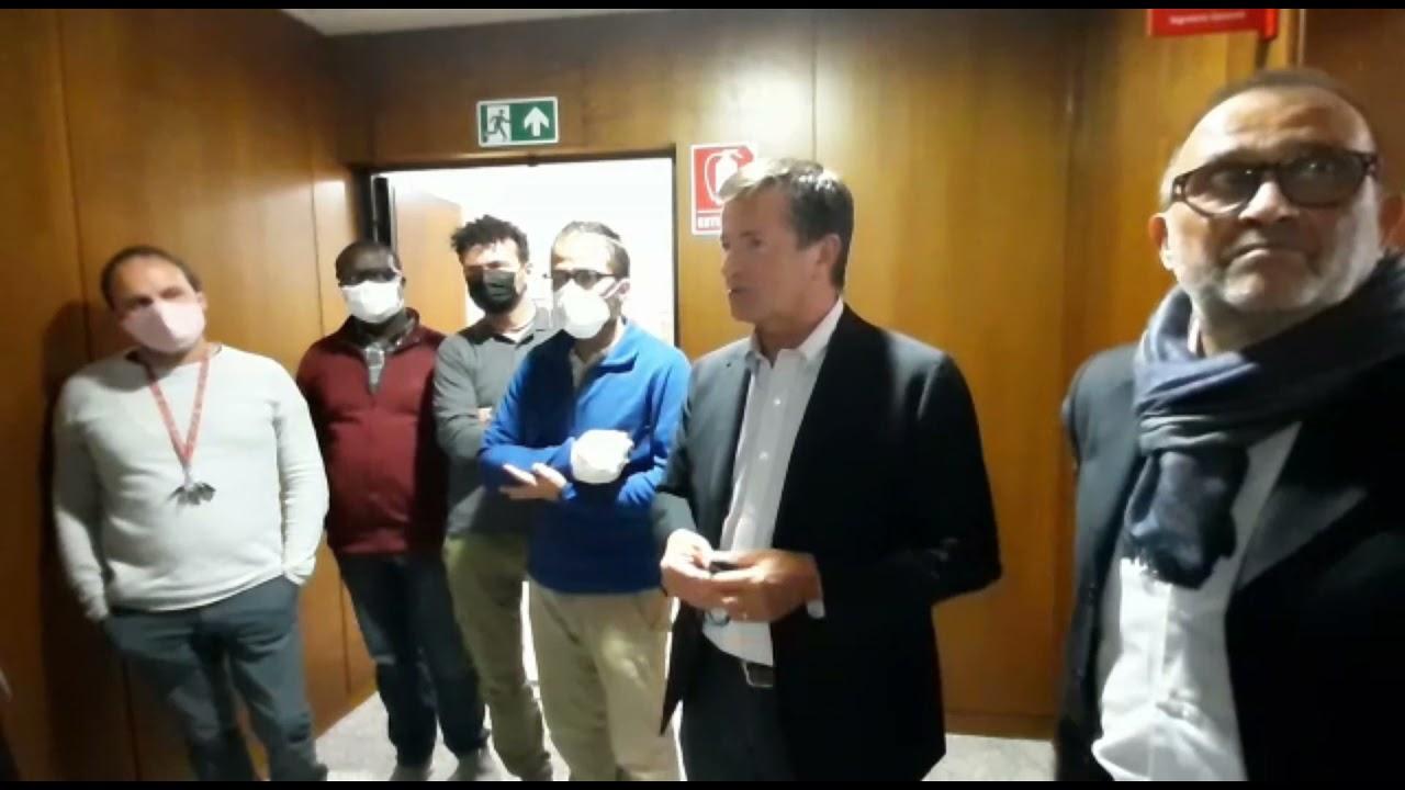 La solidarietà del sindaco Gori alla Cgil di Bergamo