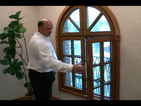 Energy efficient commercial vinyl windows are quickly becoming a favorite for green commercial buildings. Our french casement with a real wood look is demonstrated in this short video.