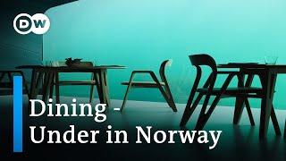 """World's largest Underwater Restaurant   The """"Under"""" in Norway   Europe's First Underwater Restaurant"""