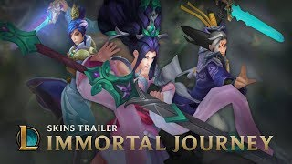 The Quest for the Sacred Sword | Immortal Journey 2017 Skins Trailer - League of Legends