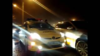 очевидец ДТП 2018 02 15 Camry 7777 против полиции на Prius авария