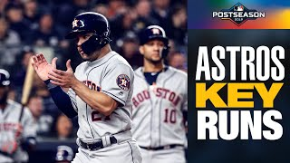 José Altuve leads CLUTCH Astros' inning to seal win over Yankees in ALCS Game 3 | MLB Highlights