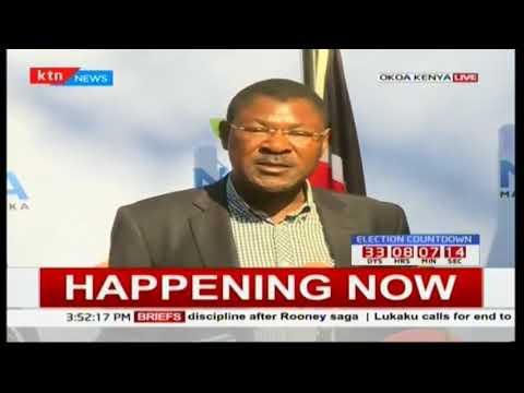 Raila Odinga reacts to AG Githu Muigai's statement