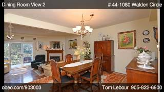 preview picture of video '# 44-1080 Walden Circle Mississauga ON L5J4J9'