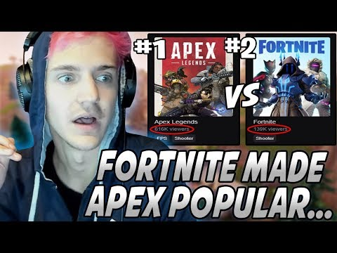 Ninja Explains Why Fortnite Will NOT Die Off & That It's The REASON Apex Legends Is POPULAR!