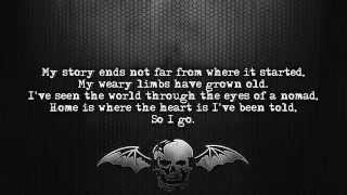 Avenged Sevenfold - Coming Home [Lyrics on screen] [Full HD]