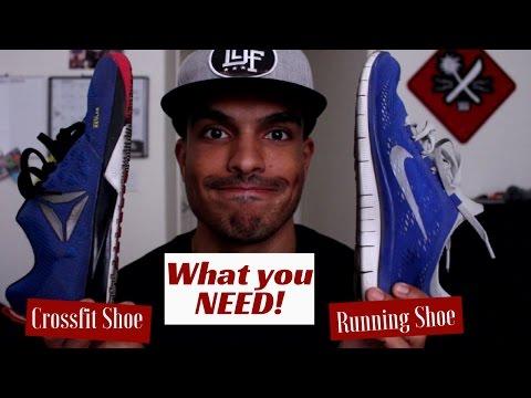 Crossfit Beginner   Crossfit Shoe Vs. Running Shoe   Why You Need Crossfit Shoes!