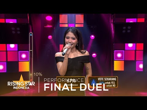 Mirriam Eka Ratu Sejagad | Final Duel | Rising Star Indonesia 2019