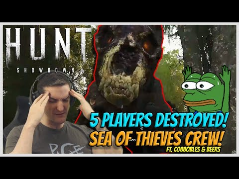 5 Players DESTROYED! - Hunt: Showdown #03 The SoT Squad!