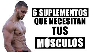6 Suplementos Que Ayudan a Crecer El Músculo