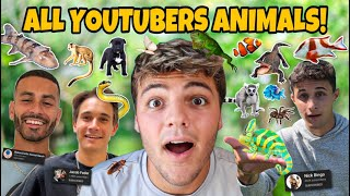 Visiting EVERY ANIMAL YouTuber's HOUSE!! *EPIC PETS*