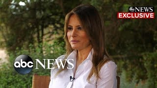 Melania Trump says president's alleged infidelities are not a 'focus of mine'