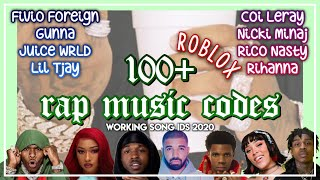 100+ RAP ROBLOX MUSIC CODES | WORKING 2020