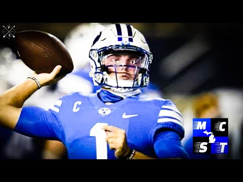 Should Detroit Lions Draft BYU QB Zach Wilson in Upcoming 2021 NFL Draft!!!