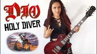 Dio - Holy Diver Guitar Cover | Noelle dos Anjos