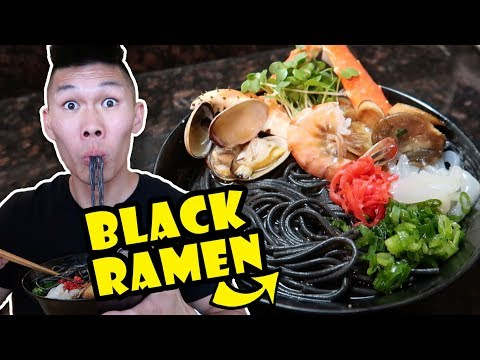 BLACK RAMEN NOODLES + SEAFOOD RECIPE UPGRADE || Life After College: Ep. 552