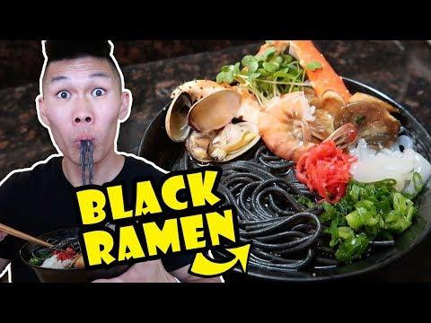 BLACK RAMEN NOODLES + SEAFOOD RECIPE UPGRADE    Life After College: Ep. 552