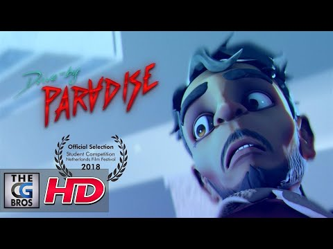 "CGI 3D Animated Short: ""Drive-by Paradise"" – by Jasper de Vries, Joren Hoogendijk & Anouk O'Leary"
