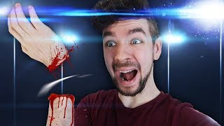 """Would You Rather lose and arm??  Monster Prom ► https://www.youtube.com/watch?v=5y1OaSMb8-c  ►Twitter : https://twitter.com/Jack_Septic_Eye ►Instagram: http://instagram.com/jacksepticeye  Game Link ► http://either.io  Edited by Pixlpit: https://www.youtube.com/channel/UCHsjBlPYou_k7FgMKLCo5JA  Outro animation created by Pixlpit: https://www.youtube.com/user/pixlpit  Outro Song created by """"Teknoaxe"""". It's called """"I'm everywhere"""" and you can listen to it here http://www.youtube.com/watch?v=JPtNBwMIQ9Q"""