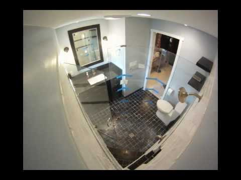 Brad Evers bathroom remodel time lapse