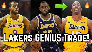 Los Angeles Lakers GENIUS Trade to Get Dwight Howard & Andre Iguodala! | Perfect For LeBron James!