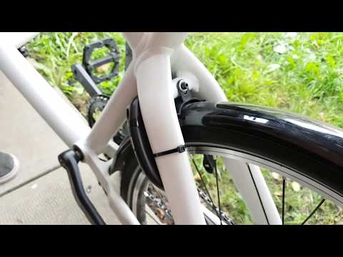 Locking your cargo bike for your urban service business