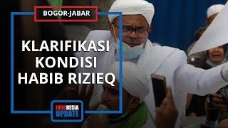 Santer Diisukan Positif Covid-19, Habib Rizieq Tes Swab Diam-diam saat Petugas Salat Jumat