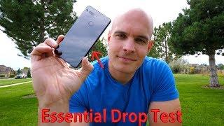 Essential Phone Drop Test - TITANIUM and CERAMIC vs. GRAVITY!