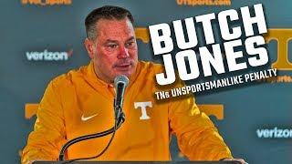 Watch Butch Jones address Tennessee